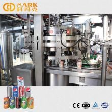 Automatic 330ml 3000cans Per Hour Craft Beer Beverage Juice Aluminum Can Filling Sealing Machine / Beer Canning Equipment Line